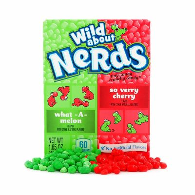 Wonka Nerds Watermelon & Cherry, 46,7 g