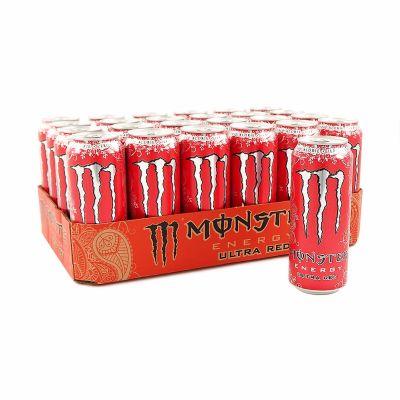 Monster Energy Ultra Red, 500 ml x24