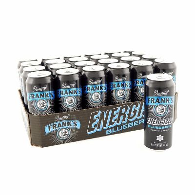 Frank's Energizer Blueberry, 500 ml x24