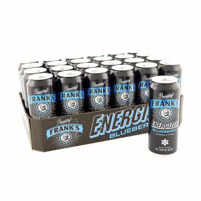 Frank's Energizer Blueberry, 500 ml x24