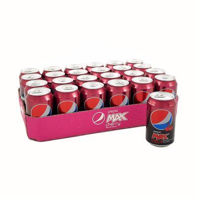 Pepsi Max Cherry 24-pack, 7920 ml
