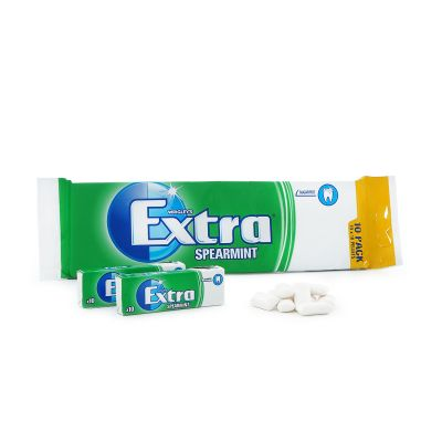 Extra Spearmint 10-pack, 140 g