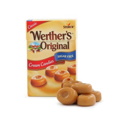 Werther's Original Sockerfri Tablettask, 42 g