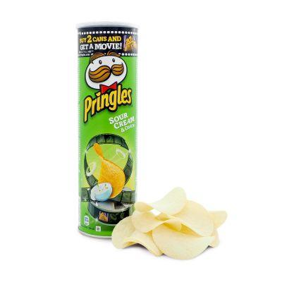 Pringles Sourcream & Onion, 190 g