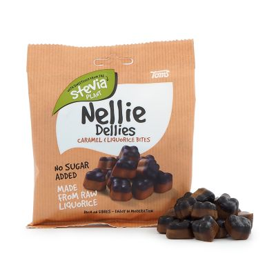 Nellie Dellies Caramel & Liquorice Bites, 90 g