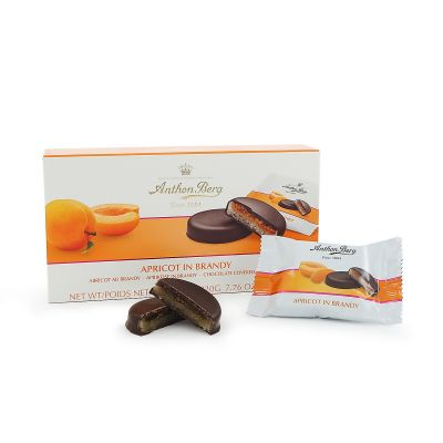 Anthon Berg Apricot in Brandy, 220 g