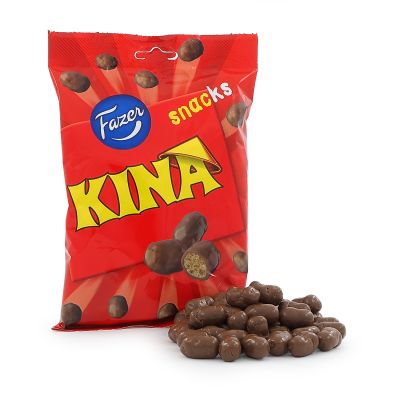 Fazer Kina Snacks Röd, 185 g