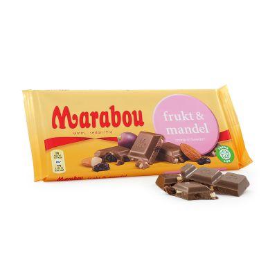 Marabou Frukt & Mandel, 200 g