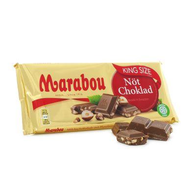 Marabou King Size Nöt, 250 g
