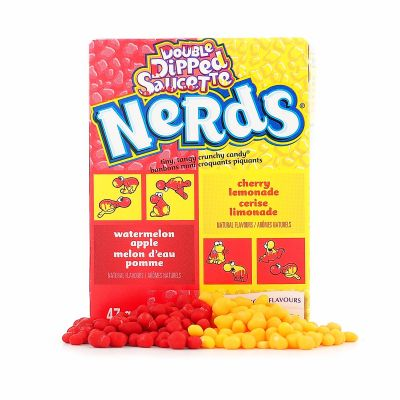 Wonka Nerds Watermelon/Apple & Cherry/Lemonade, 47 g