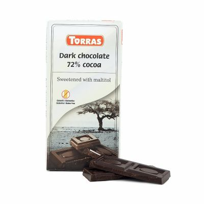 Torras Dark chocolate 72%, 75 g