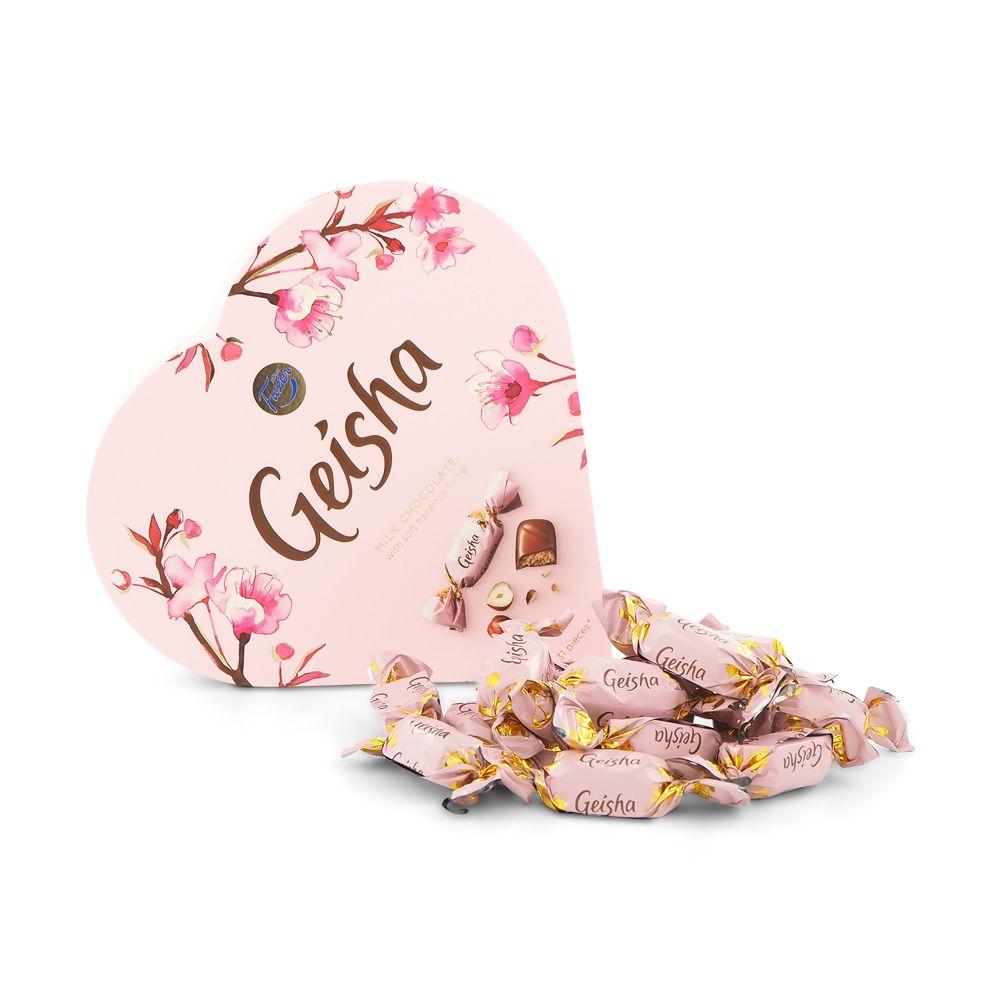 geisha choklad nötter