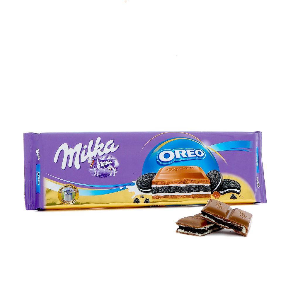 milka oreo choklad