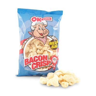 Bacon Crisp Fläsksvålar Salt, 150 g