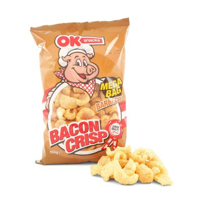Bacon Crisp Fläsksvålar Barbecue, 150 g
