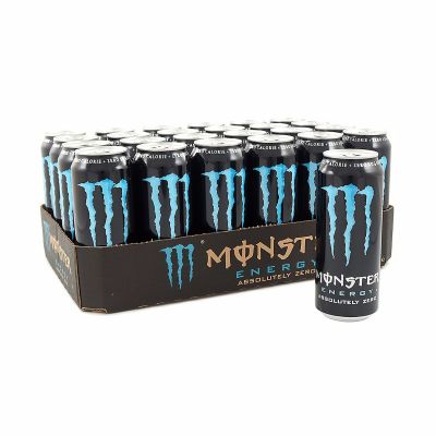 Monster Energy Absolutely Zero, 24x 500 ml