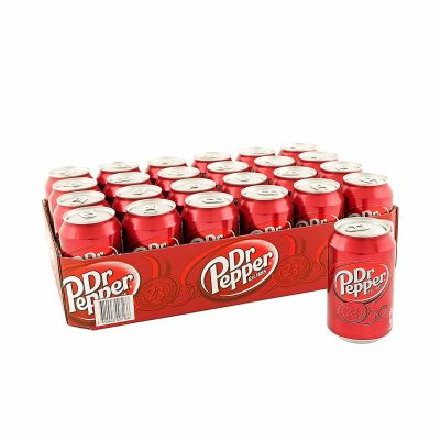 Dr Pepper 24-pack, 7920 ml