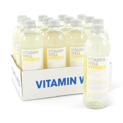 Vitamin Well Defence Citrus Fläder, 500 ml x12