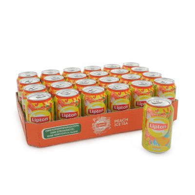 Lipton Ice Tea Peach 24-pack, 7920 ml