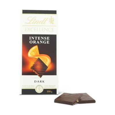Lindt Excellence Intense Orange, 100 g