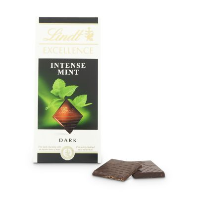 Lindt Excellence Intense Mint, 100 g