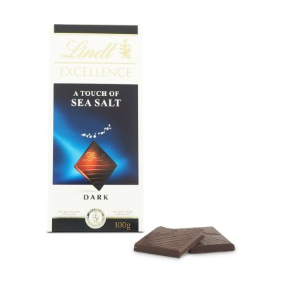 Lindt Excellence Sea Salt, 100 g