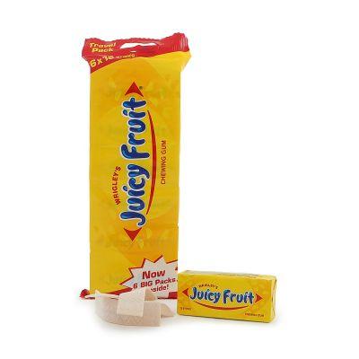 Juicy Fruit 6-pack, 250 g