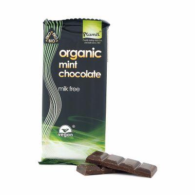 Plamil Ekologisk Mintchoklad, 100 g