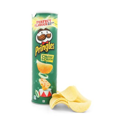 Pringles Cheese & Onion, 190 g