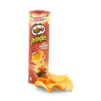 Pringles Hot Paprika Chili, 200 g