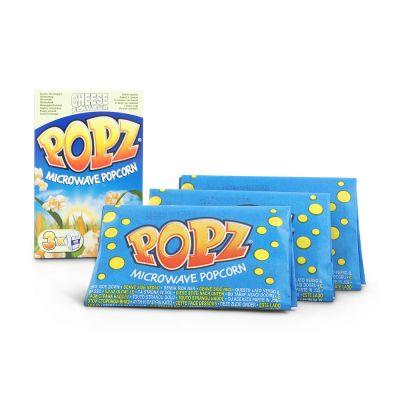 Popz Microwave Popcorn Cheese Flavor, 3x85 g