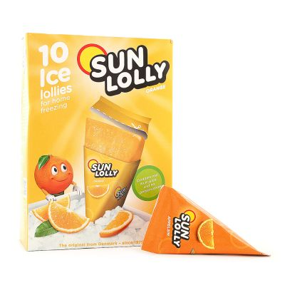 Sun Lolly Isglass Orange, 10x 65 g