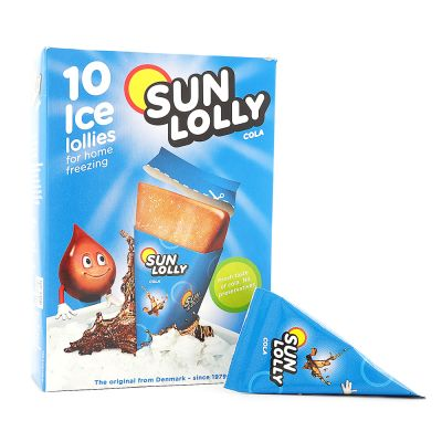 Sun Lolly Isglass Cola, 65 g x10