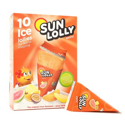 Sun Lolly Isglass Exotic, 10x 65 g