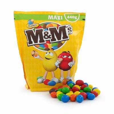 M&M Peanut Maxi, 440 g