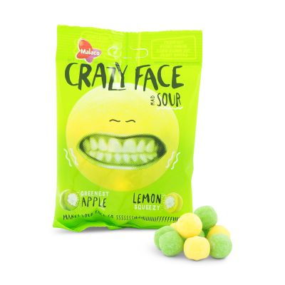 Crazy Face Mad Sour, 80 g