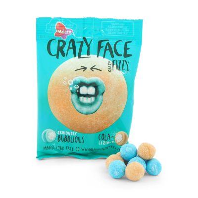 Crazy Face Crazy Fizzy, 80 g