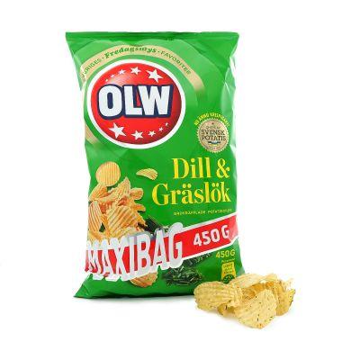 OLW Dill & Gräslök, 450 g