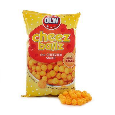 OLW Cheez Ballz, 225 g