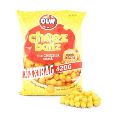 OLW Cheez Ballz, 420 g