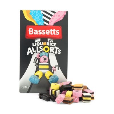 Bassett's Liquorice Allsorts, 800 g