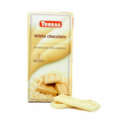 Torras White chocolate, 75 g