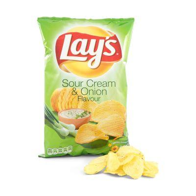 Lay's Sourcream & Onion, 175 g