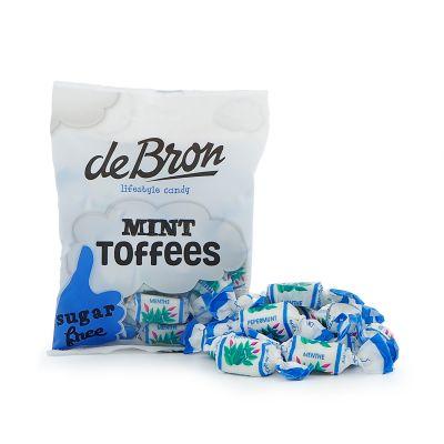 de Bron Mint Toffees, 90 g