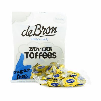 de Bron Butter Toffees, 70 g