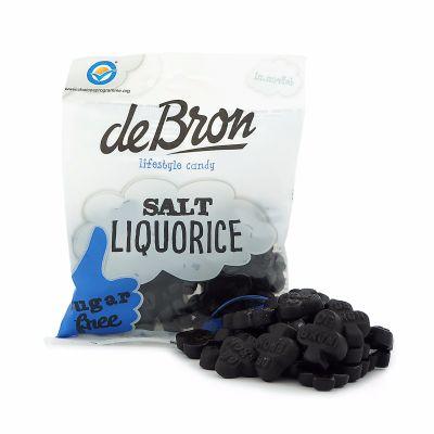 de Bron Salt Liquorice, 100 g