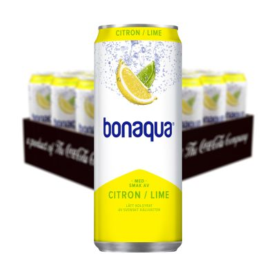 Bonaqua Citron Lime, 330 ml x20