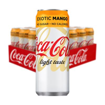 Coca Cola Light Exotic Mango, 330 ml x20