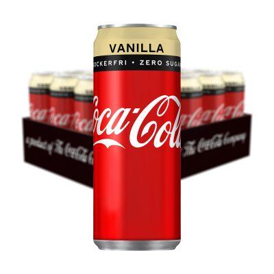 Coca Cola Zero Vanilla, 330 ml x20