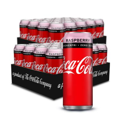 Coca Cola Zero Raspberry, 20x 330 ml